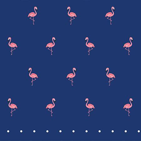 Zoom - Flamingo Bandanna