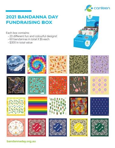Fundraising Box Contents 2021