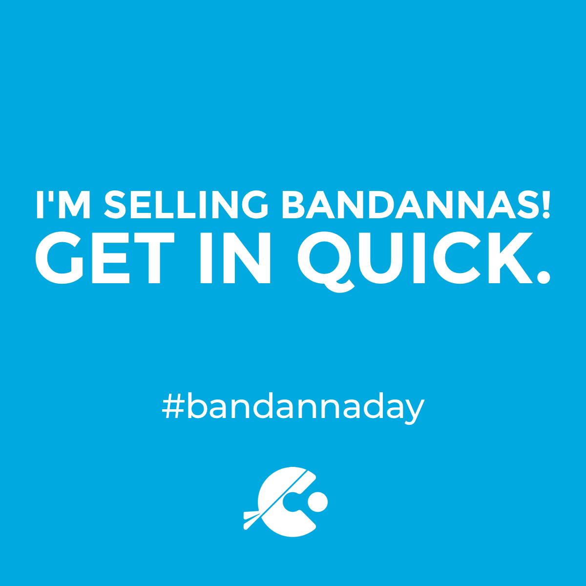 Selling bandannas