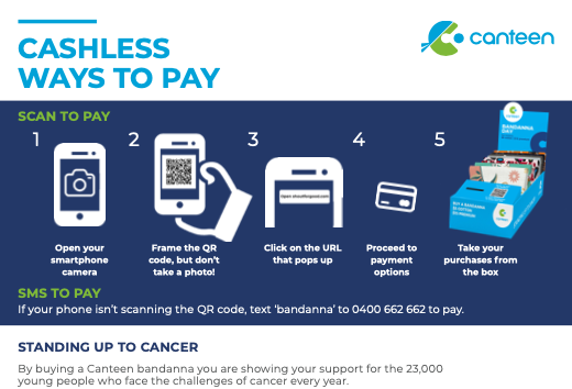 Cashless ways to pay